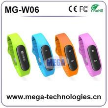 2015 top sales bluetooth smart waterproof 3D digital sensor pedometer, wristband pedometer, smart band