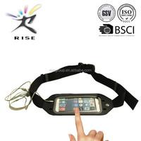 2015 New Design Touch Screen Window Cellphone Waist Belt Best Travel Bag