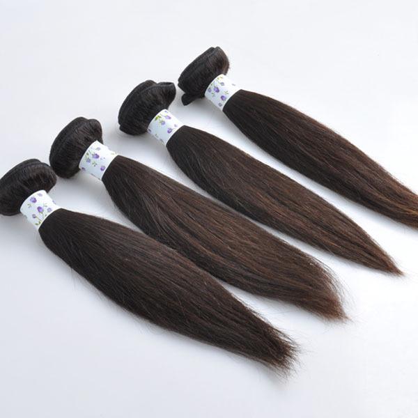 Trade Assurance Hot Moda Campeão Tingido Branqueada Cor Natural 100% Não Transformados cabelo brasileiro para trança única
