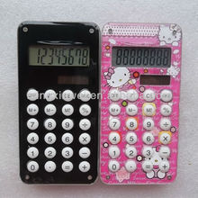 8 Digits Acrylic Colorful Printing Calculator with Labyrinth Game