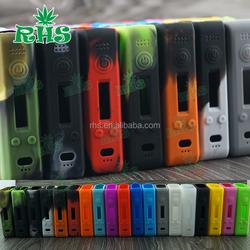 19 colors Hcigar vt200 silicone case/skin/sleeve/cover/decal/sticker for temperature control original 200w vt 200w vape box mod