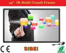 "19"" 6 Touch Points Infrared Multi Touch Screen Overlay For All in One PC/Touch Wall/Touch Table"