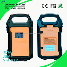 China gasoline and diesel engine start portable power bank mini 12v/24v auto jump starter car accessories