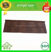 Waterproof best quality Stone coated metal roofing sheet