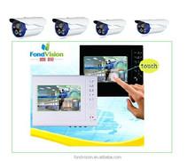 dvrh。 264cctvセキュリティ監視システムサポート500gbhddホットビデオ