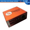 herramienta de desbloqueo para el teléfono móvil activado caja sigma 9 con cables