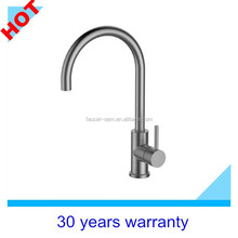 Stainless steel electric water heater faucet