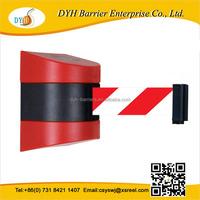 ESD Standard Retractable Wall Mounted Belt Barrier