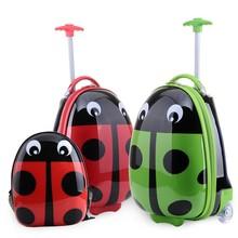 New PC ABS ladybug Pattern Children Luggage/Luggage Sets/Suitcase