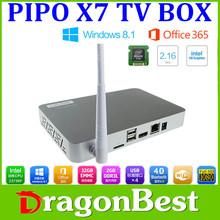 2015 New Product PIPO X7 TV Box Smart tv box 1.8GHz Quad Core 2GB/32GB IPTV Media Player