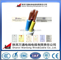 BV Type 450/750V Copper core PVC Insulation Electrical wire cable 60227 IEC 01-450/750V electrical wire