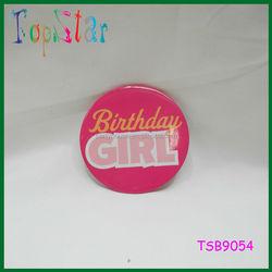 Birthday Girl And Birthday Boy Beautiful Colorful Badge for Birthday Badge