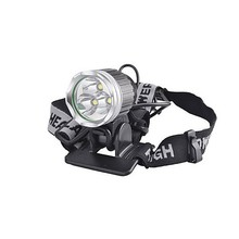 Military Level Quality,Unique Design, Super Bright, LED Bicycle Bike Headlight