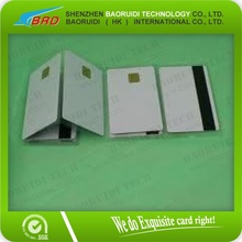 Blank pvc mango rfid card for time attendance system