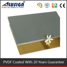 Alusign good-looking and bright acm keep quiet materials new building materials 2012