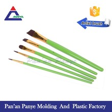 Free sample short handle oil paint and acrylic paint brush set