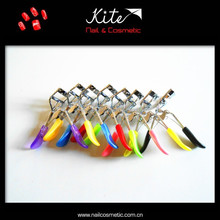 attractive design colorful eyelash curler
