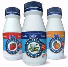 Impressão de etiquetas para garrafa de leite, Etiqueta etiqueta para garrafa de leite