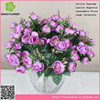 Mini artificial silk artificial camellia flowers cheap wholesale