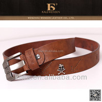 New PU belt with fashionable fittings on the strap/PU belt for men