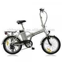 folding electric cycles with motor