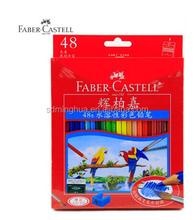 48 colour Faber castell oily classic pencils set in red paper box