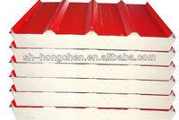 75mm thick PU sandwich panel isopanel