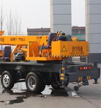 5 Ton Telescopic Crane Mounted On Truck