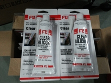 transparent waterproof rtv silicone sealant, for hi-temp applications