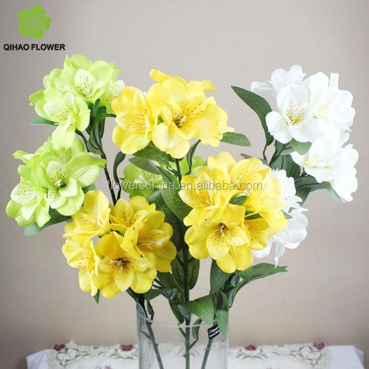 Hot Wedding Flowers MakingWedding BouquetsCenterpiece Artificial Roses For Sale