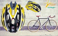 Sunshine specialized bike helmet, mountain bike helmet, lord of the ring helmet