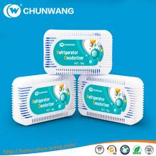 Household cupboard bulk air freshener/fridge odor absorber/deodorizer 60g