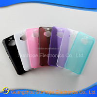 New jelly gel TPU Soft back case cover For HTC ONE M9 Plus