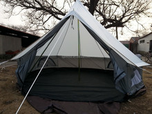 polyester bell tent, 4m bell tent