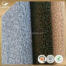 Digital printed polyester chiffon fabric sherpa fabric