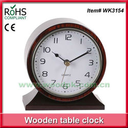 Woodpecker table table clock hotel silent alarm clock
