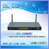 1GE+3FE+CATV+WIFI home gateway epon onu optical network terminal