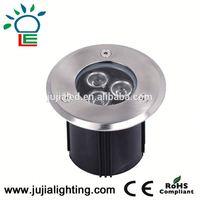 12W Led Lights in Concrete CE RoHS EMC LVD Single Color RGB IP67 Led Underground Light