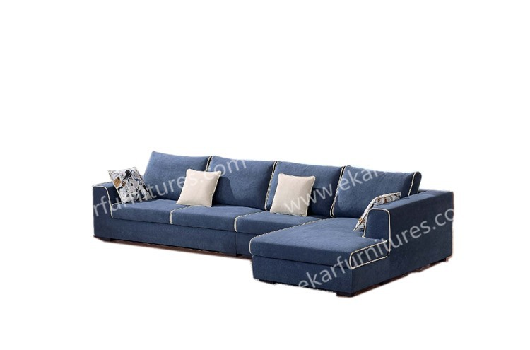 Modern sofa designs replica stackable click clack fabric sofa for Design sofa replica