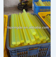 high elasticity rubber polyurethane pu rod