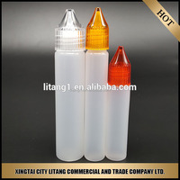 Pen shape pe e smoke oil bottle 30ml sold by litang company