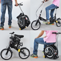 wholesale popular foldable bike_ smallest folding bike_ 12 inch 14 inch foldable bicycle