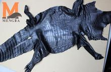 crocodile skin, genuine leather