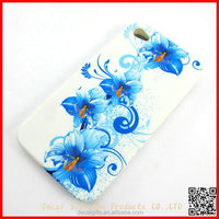 new arrival and hot selling Chinese traditional flower printed cell phone hard case for 5 5s