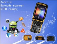 gsm/gps/3g/wifi/bluetooth pos android rfid reader pda barcode data collector scanners TS-901