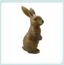Ceramic rabbit figurine craft