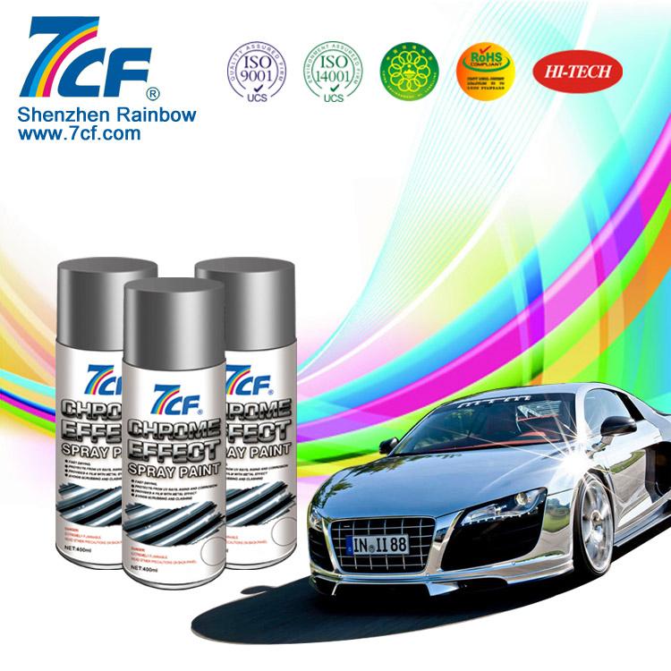 Mirror chrome car paint for wheels buy mirror chrome car for Chrome paint price