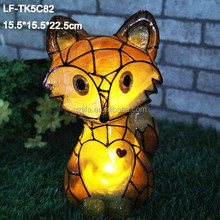 transparent solar fox led light/solar fox led light/solar fox