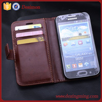 2015 new arrival pu leather wallet case for samsung galaxy win i8552