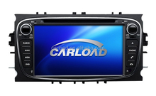 7in touch screen 2 din ccar dvd play for mondeo with GPS, iPOD, TV, RDS functions